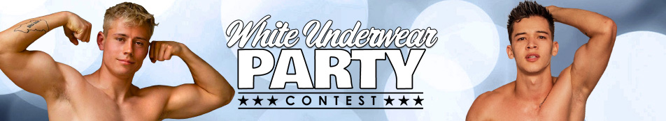 White Underwear Party Discount